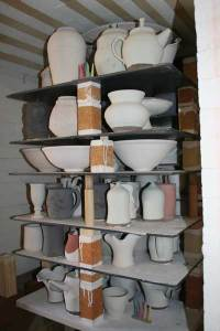 Fully Loaded Kiln Before Firing